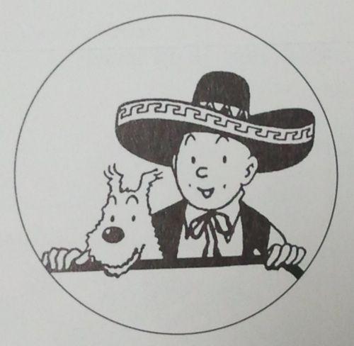 Tintin y Milu en Mexico!