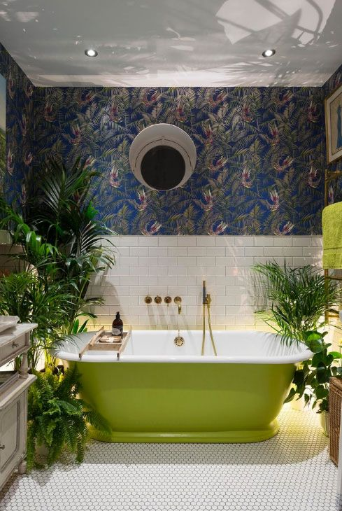 The tropical interiors trend has evolved… now we have the tropical rainforest…
