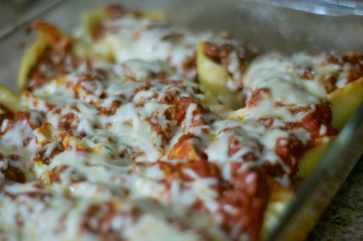 Baked Stuffed Shells - 365 Days of Baking