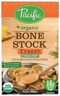 Organic Bone Stock Turkey Unsalted