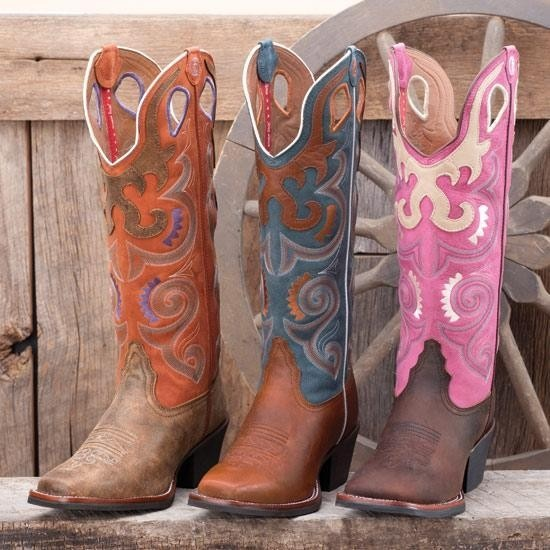 Tony Lama Blue Buckaroo Boots