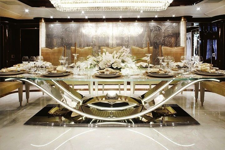 15 Stunning High End Dining Table Design Ideas Luxury Dining Tables Luxury Dining Beautiful Dining Rooms