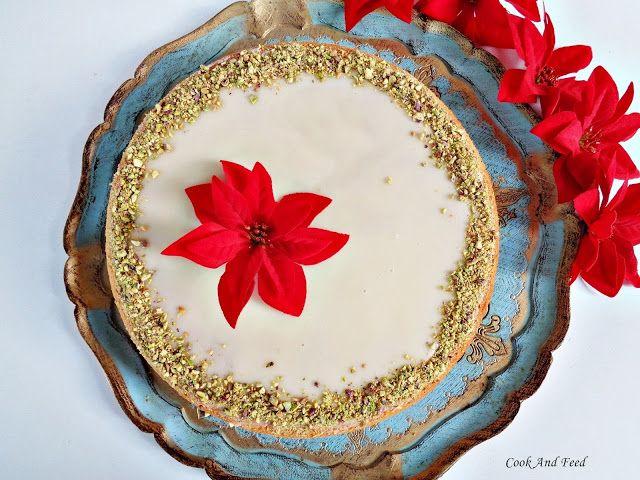 Βασιλόπιτα με μανταρίνια/New Year's Cake | Cook And Feed
