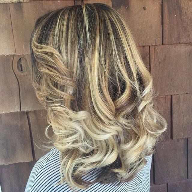 Let your Hair shine! Loving this beautiful Baylage done By Allison at Euphoria Salon Nashville