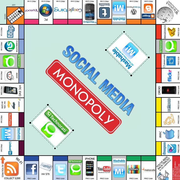 Crystal Gibson has designed the Social Media Monopoly Board game.