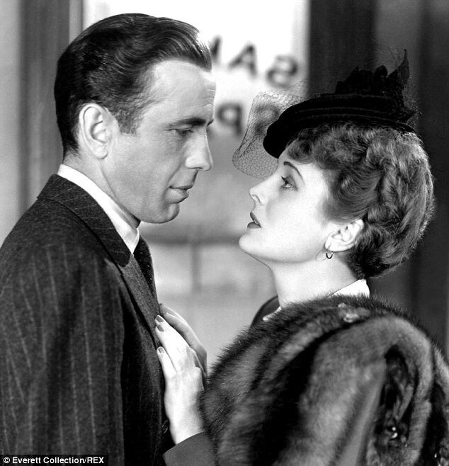 Humphrey Bogart and Mary Astor in The Maltese Falcon 1941