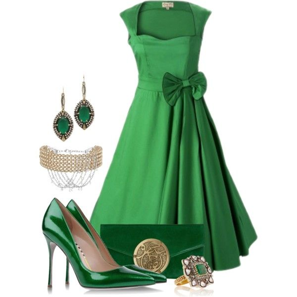 """Emerald"" by josi-d on Polyvore  Love It"