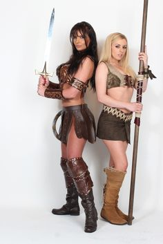 Xena and Gabby cosplay
