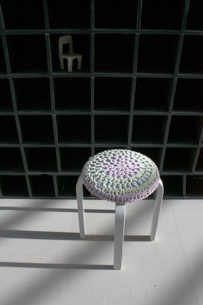 crocheted Miami style