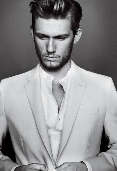 Alex Pettyfer. Did not realize he was English. You, Sir, just got 10x hotter in my book :)
