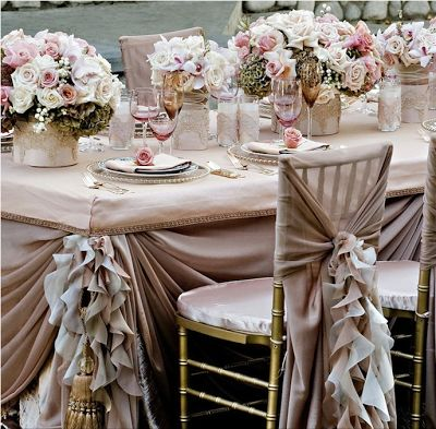 Dusty Rose Champagne Bliss Weddings Wedding Decorations Chairs