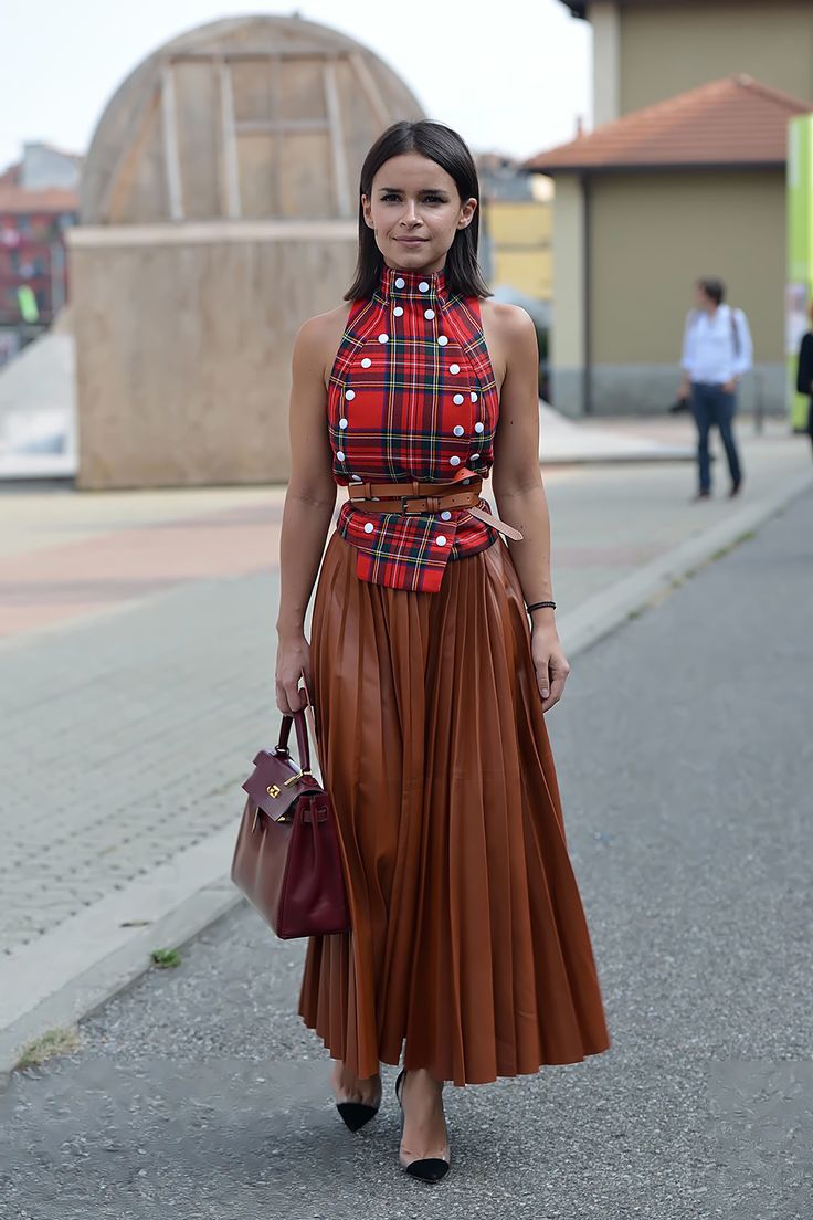 Best 25 Pleated Leather Skirt Ideas On Pinterest Black