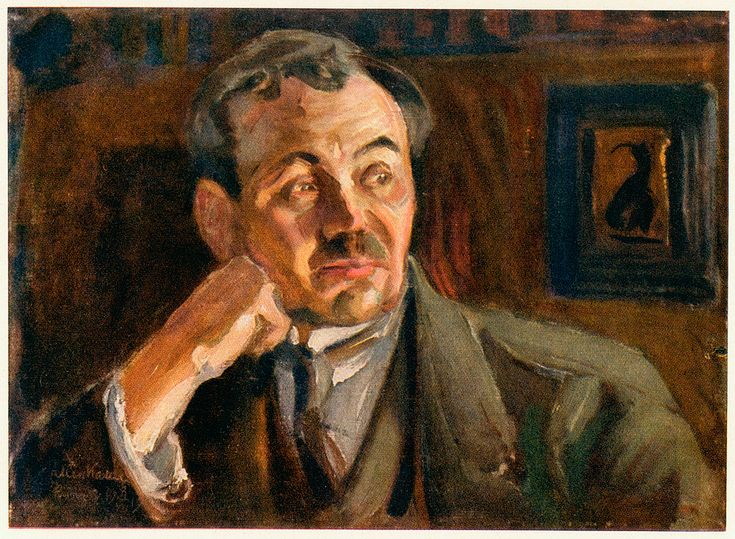 Eino Leino (by Akseli Gallen-Kallela)