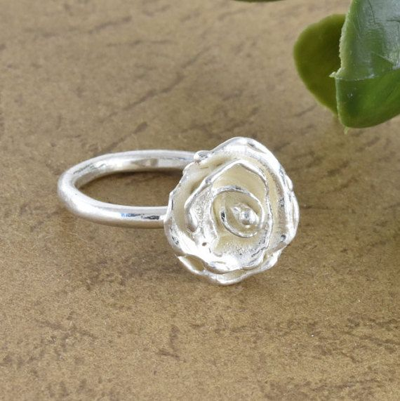 rose ring, Handmade ring, thin ring, ring present, 925 silver, silver ring, Unique ring, women ring, Birthday gift, jewelry, ring designs