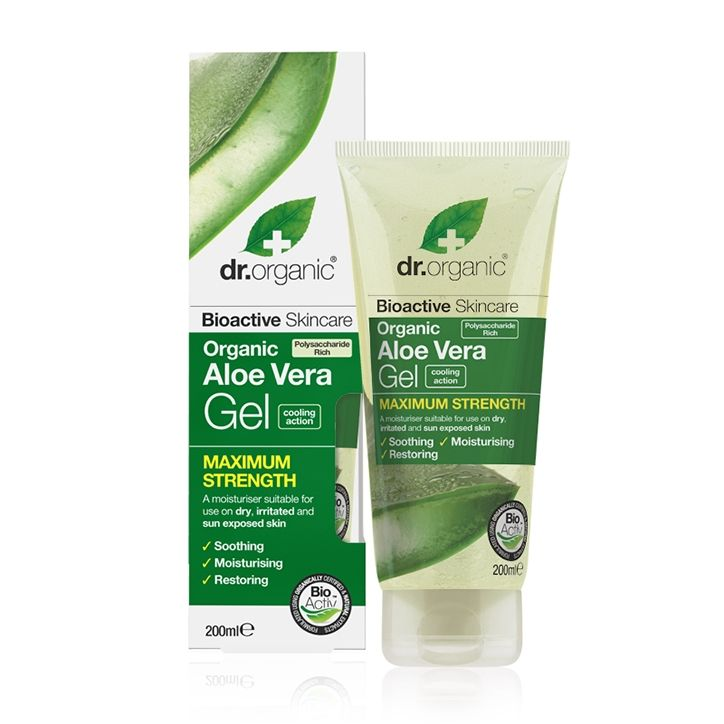 Dr Organic Aloe Vera Gel 200ml Aloe Vera Gel Organic Aloe Vera