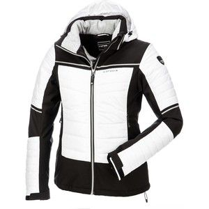 Gezien op beslist.nl: Icepeak, nanda, ski-jas, dames, wit-zwart