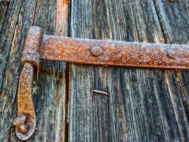Rusty, Butt Hinge, Hinge, Articulation, Wood, Door