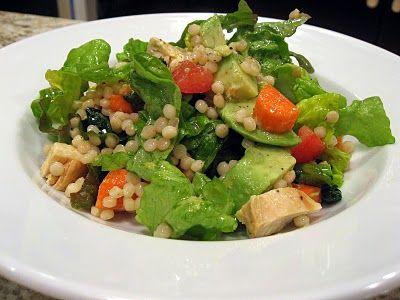 Dinner Delish: Mediterranean Israeli Couscous Salad