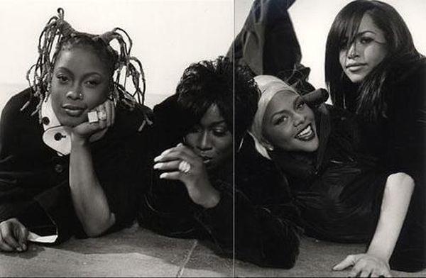 down ass chicks. Da Brat, Missy Elliot, Lil Kim and Aaliyah