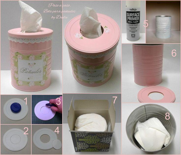 Las 25 mejores ideas sobre latas recicladas en pinterest for Jardines en lata
