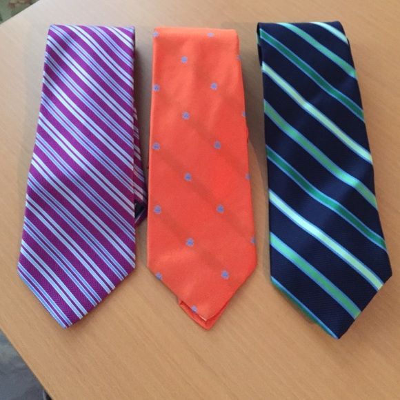 Brooks Brothers Ties Bundle of 3 Just like new ! Three  genuine Brooks Brothers Ties. Brooks Brothers Other