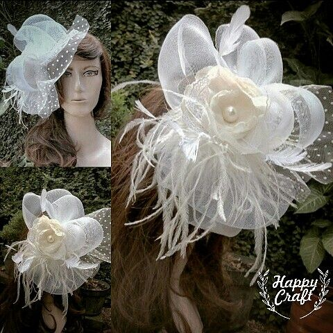 fascinator, hat, bridal hat