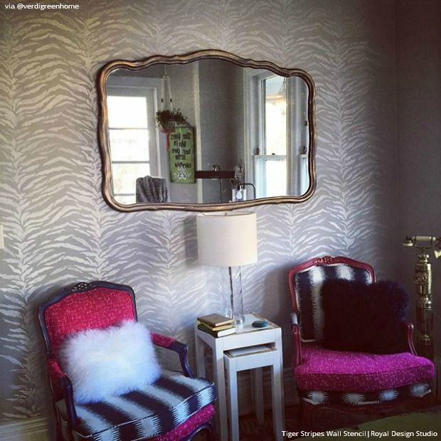 25 diy wall furniture stencil projects on instagram. beautiful ideas. Home Design Ideas