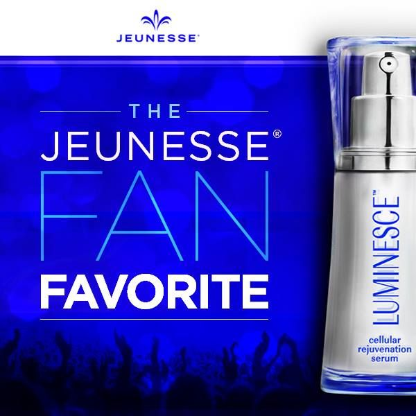 #LUMINESCE™ cellular rejuvenation serum gently transforms your skin and minimizes the appearance of fine lines and wrinkles. It's easy to see why it's our #1 most popular product around the globe. #freedomJeunesse #jeunesseGlobal #GenerationYoung