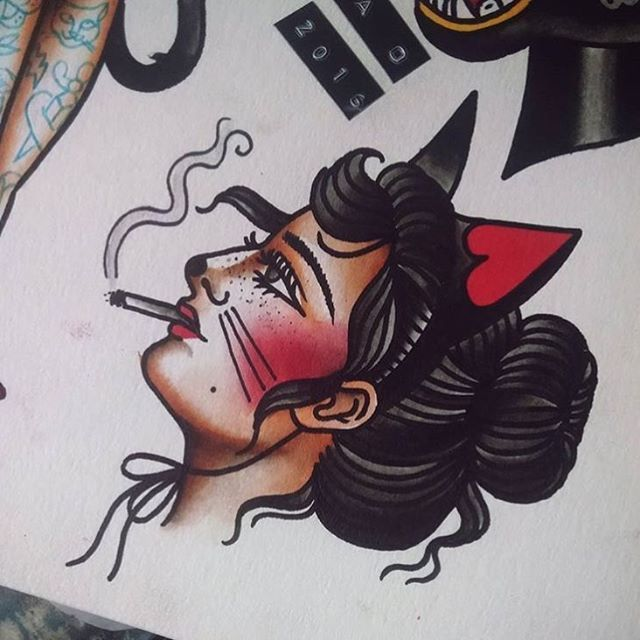Flash by @ohjessica_o #trflash#traditional_flash#tattoo#tattooflash#traditional#traditionaltattoo#traditionalflash#tattooart#flash#art#illustration#drawing
