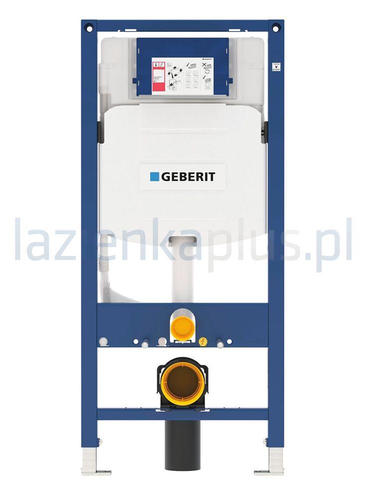 Element montażowy do montażu pod ścianę pełną lub pod ścianą z płyty gipsowej. Dopasowany do instalowania wraz z wiszącymi miskami WC bądź ...
