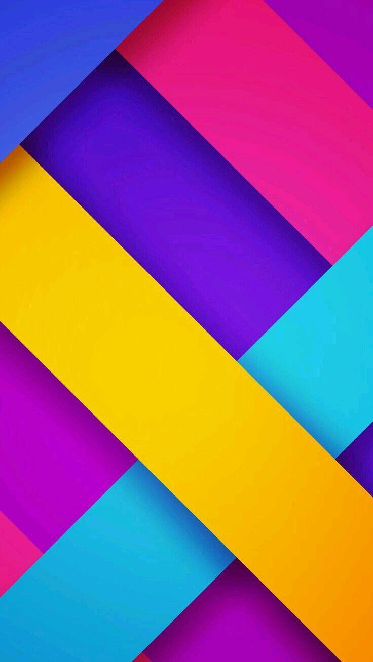 Free Colorful Geometric Wallpaper: Colorful Wallpaper, Wallpaper