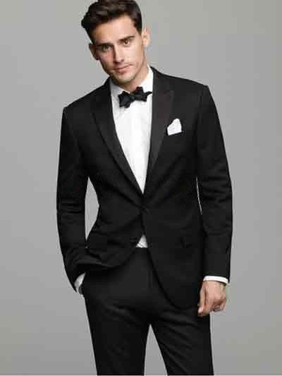 black serge groom wedding tuxedo groom wear wedding