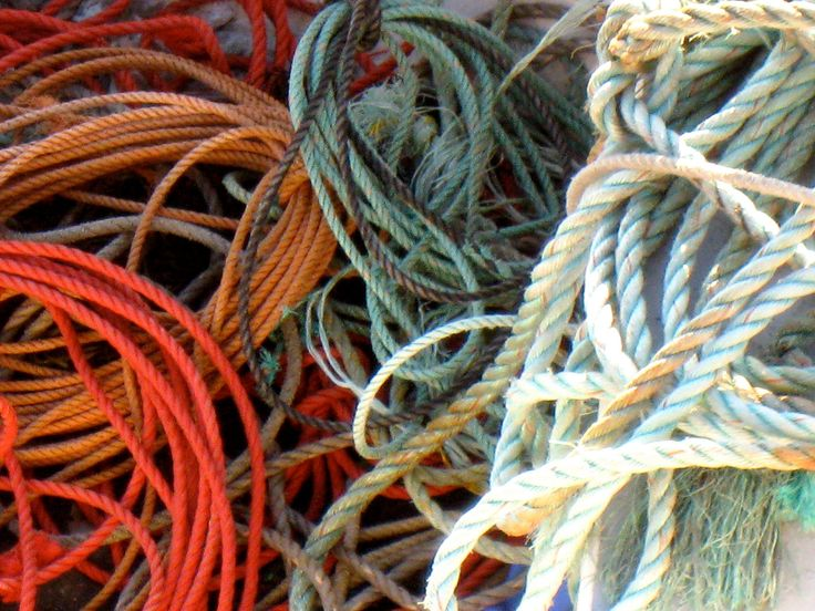 Maine lobster fishing rope.  Photo courtesy of Billy Kitchen