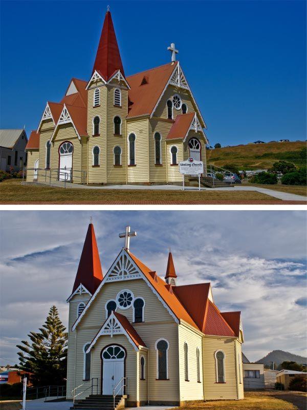 Uniting Church. Article and photo by Carol Haberle for www.think-tasmania.com