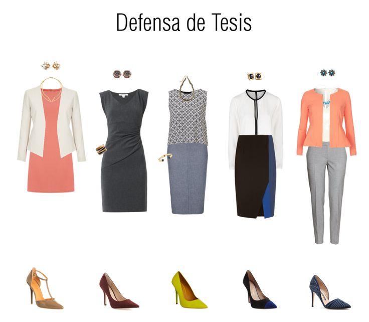 Defensa de Tesis - ropa
