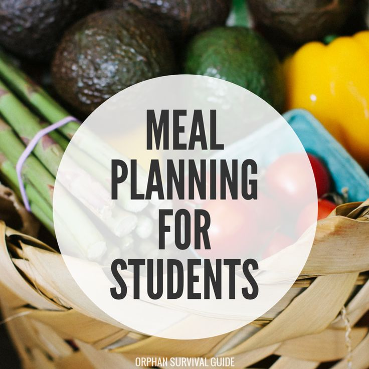 college meal plan