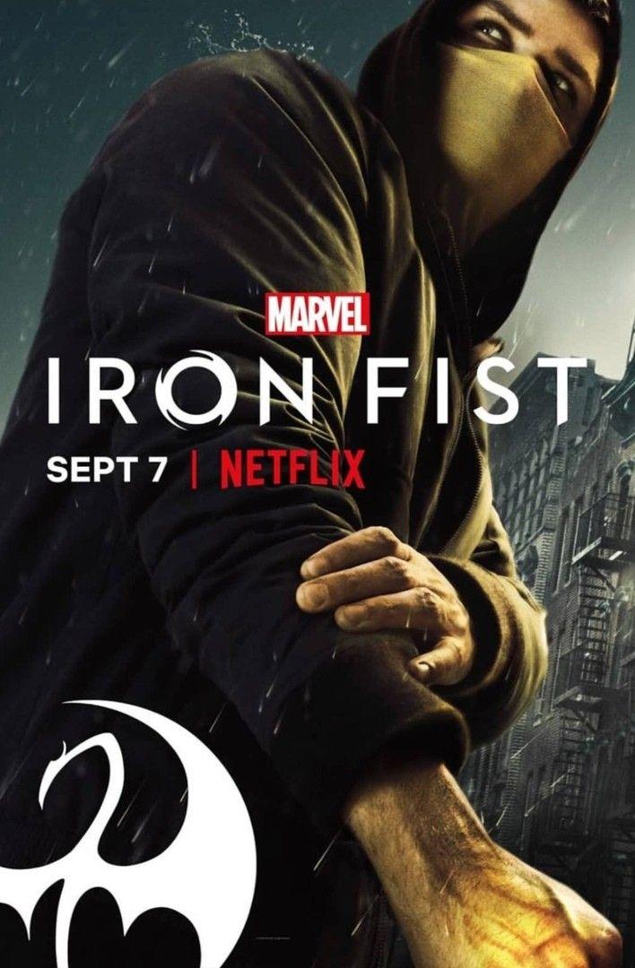 Punho De Ferro 2 Temporada Iron Fist Marvel Avengers