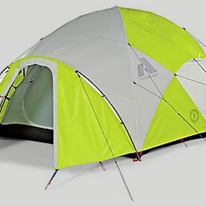 Solar Tent Charges Your Gadgets in the Wild