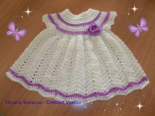 ΠΛΕΚΤΑ ΒΑΣΙΛΕΙΑ - CROCHET VASILIA : Αυτο το φορεματάκι ποιο κοριτσάκι θα το φορέσει