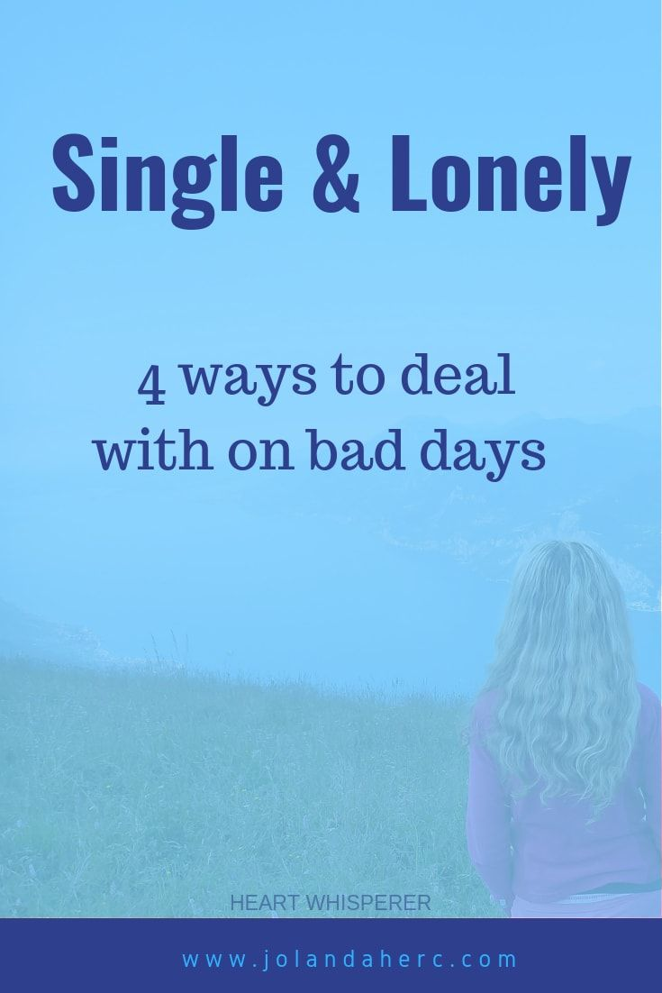 how to stop feeling lonely after a break up