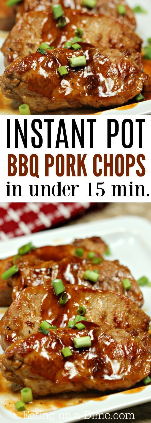 Everyone will love this Instant Pot BBQ Pork Chops Recipe! BBQ Boneless Pork Chops Recipe is incredibly simple. Try BBQ Pork Chops Pressure Cooker Recipe today!