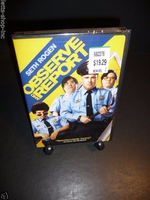Observe and Report (DVD, 2009) Seth Rogen, Ray Liotta  New Sealed