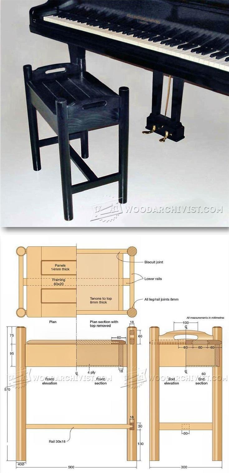 Best 25+ Piano stool ideas on Pinterest   White piano ...