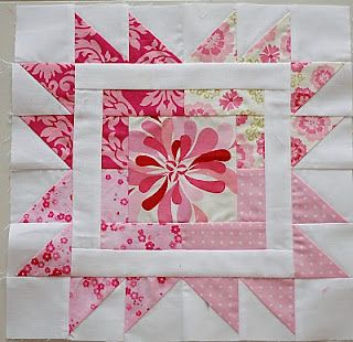 This is a cute quilt block in pinks :)