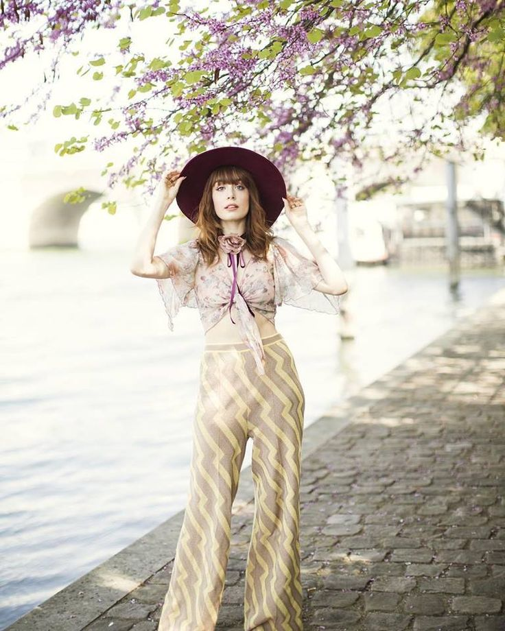 Louise Ebel aka MissPandora styles our palazzo trousers in her effortlessly chic way that we absolutely adore!