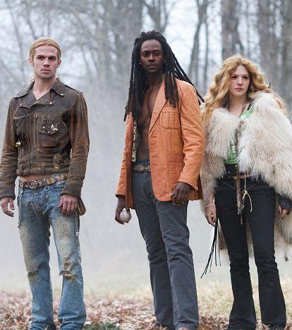 Cam Gigandet, Edi Gathegi, and Rachelle Lefevre  As James, Laurent and Victoria in 2008's Twilight