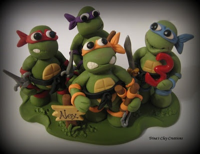 ninja turtle cake topper 127 best images about tmnt cakes on birthday 6177