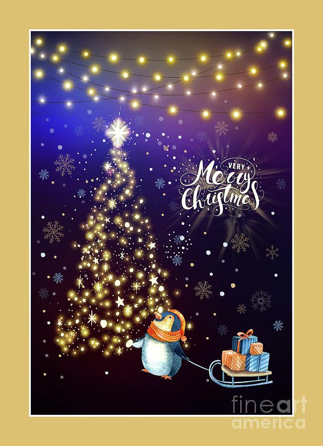 #Merry #Christmas Penguin by #Kaye_Menner #Photography Quality Prints Cards Products at: http://kaye-menner.pixels.com/featured/merry-christmas-penguin-by-kaye-menner-kaye-menner.html