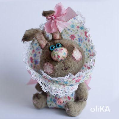 плюшевые уши: Ляльки-зайки