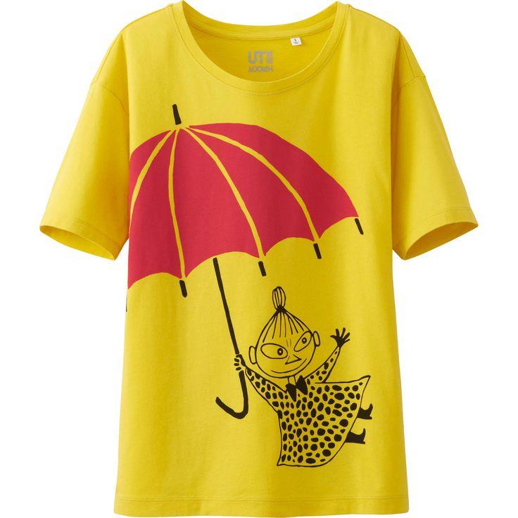 女裝 Moomin 印花T恤(短袖) | UNIQLO